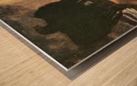 Prometheus by Franz von Stuck Wood print