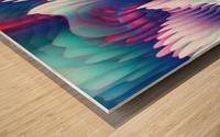 Into The Unknown XXIII Wood print