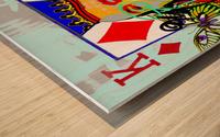 K of Dali Wood print