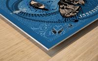 Type Is Allusive - Typography Art Print Wood print