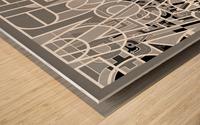 Type Is Deviant - Typography Art Print Wood print