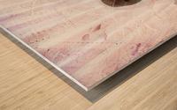 Metal Twist Wood print