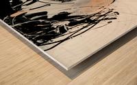3457 Wood print