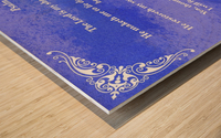 Psalm 23 5BL Wood print
