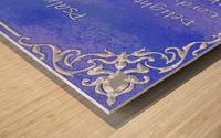 Psalm 37 4 1BL Wood print