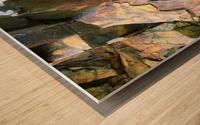 Colorful Slate Wood print