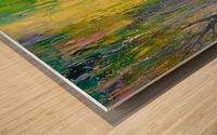 Fabulous pond Wood print
