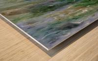 Withdrawn Wood print