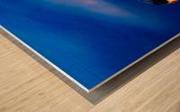 So simple Blue  Impression sur bois