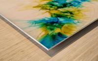 Blue Hawaii Wood print