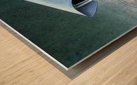 monitoring Wood print