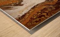 Fragments Wood print