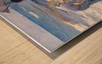 Los Pescadores Valencianos Wood print