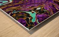Pattern LXXVIII   II   Panoramic Wood print