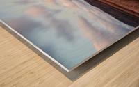 Passing Clouds Wood print
