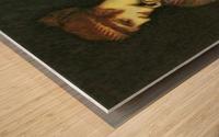 The beautiful Helena by Franz von Stuck Wood print