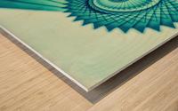 Composition de Nautile Wood print