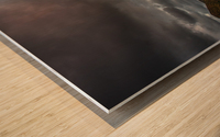 Kiss of light Wood print
