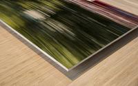 DRIFT SHIFTING 2 Wood print
