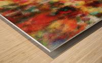 Anemones II Wood print