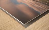 White Shoreline Wood print