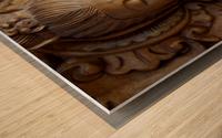 Quan Yin Compassion Wood print