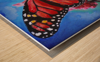 Colorado Butterfly Wood print