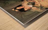 Mrs. Carl Meyer and Her Children by John Singer Sargent Wood print