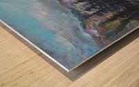 Lone Eagle Peak reflected in Mirror Lake Indian Peaks Wilderness Wood print