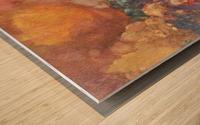 The MUSE on Pegasu by Odilon Redon Wood print