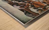 The Nameless 1914 by Albin Egger-Lienz Wood print