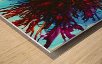 Wicked Flower  Wood print