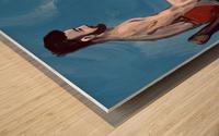 Body Strength Wood print
