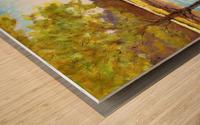 Conservation Land Wood print