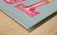 Tech Wood print