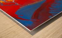 STEEL WORLD Wood print