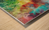 Parturition of Light Wood print