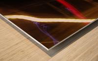 Speeding Stop Wood print