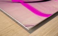 Stop Negative Wood print