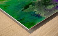 Cliff Side Hint Wood print