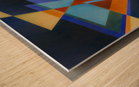 A Flight of Arrows Wood print