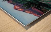 peru Wood print