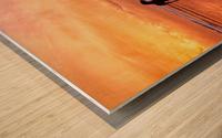 Timeless. Wood print