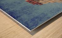 new york med Wood print