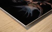 Moose Apparition  Wood print