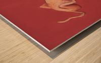 Outsider Wood print