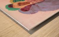 Misfits Wood print