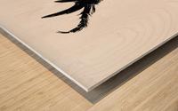 Morphing Ink Wood print