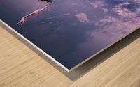Smoke & Mirrors Wood print