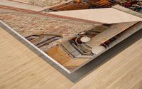 Delicatessens Castiglione del Lago Wood print